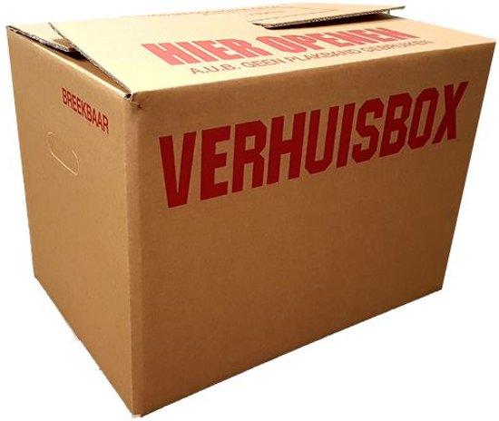 Verhuisdozen A-kwaliteit pakket 10 stuks