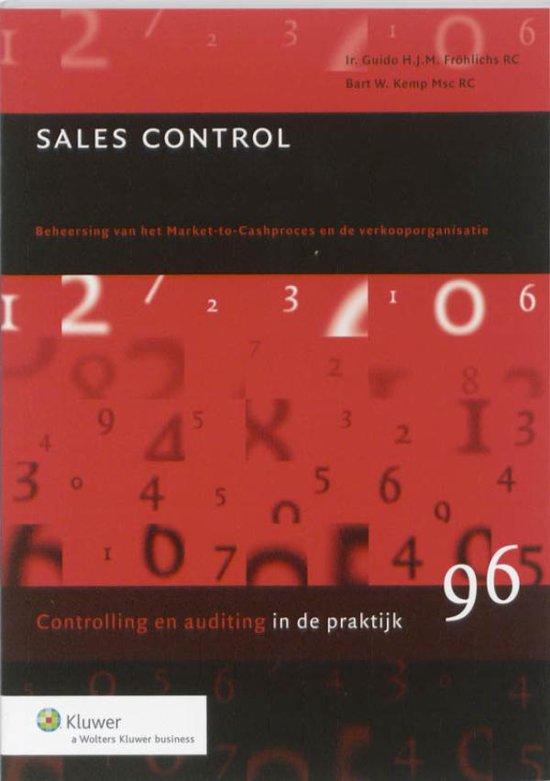 Controlling in de praktijk 96 - Sales Control