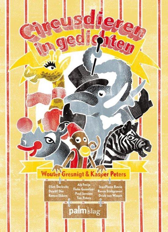 Cover van het boek 'Circusdieren in gedichten'