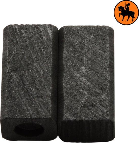 Koolborstelset voor Black & Decker GL650SBC - 6x7x13mm
