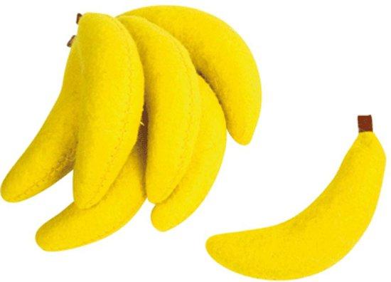 Set decoratie bananen