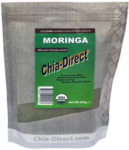 250gr organische moringa poeder - prijs incl verzending