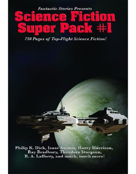 Afbeelding van Fantastic Stories Presents: Science Fiction Super Pack #1