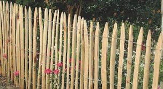 Schapenhek / kastanjehouten hekwerk 90 cm hoog