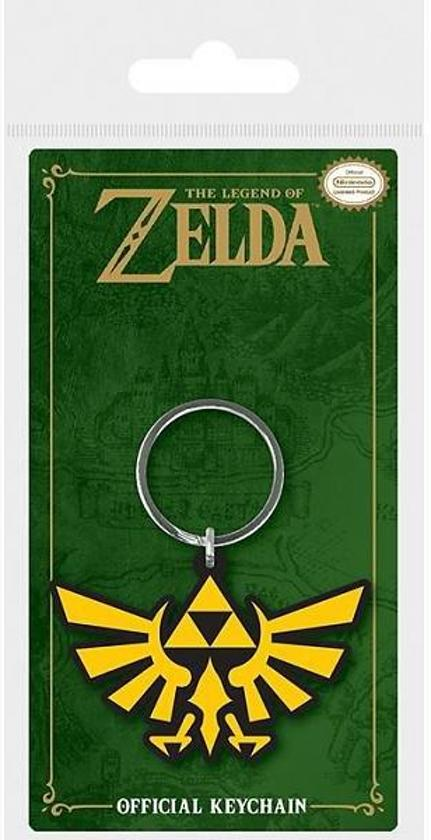 ZELDA - Rubber Keyring - Triforce