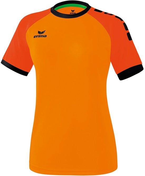 Erima Zenari 3.0 Dames Shirt - Voetbalshirts  - oranje - 36