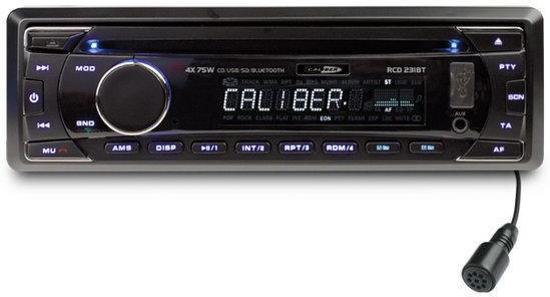 Caliber RCD231BT - Autoradio met FM radio en bluetooth - Zwart