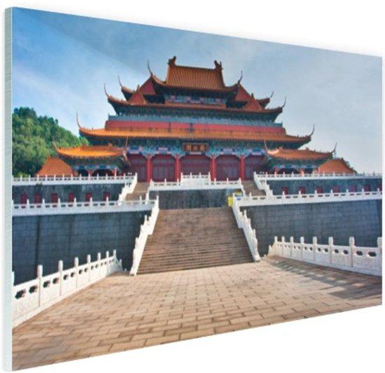 Verboden stad Peking Glas 30x20 cm - Foto print op Glas (Plexiglas wanddecoratie)