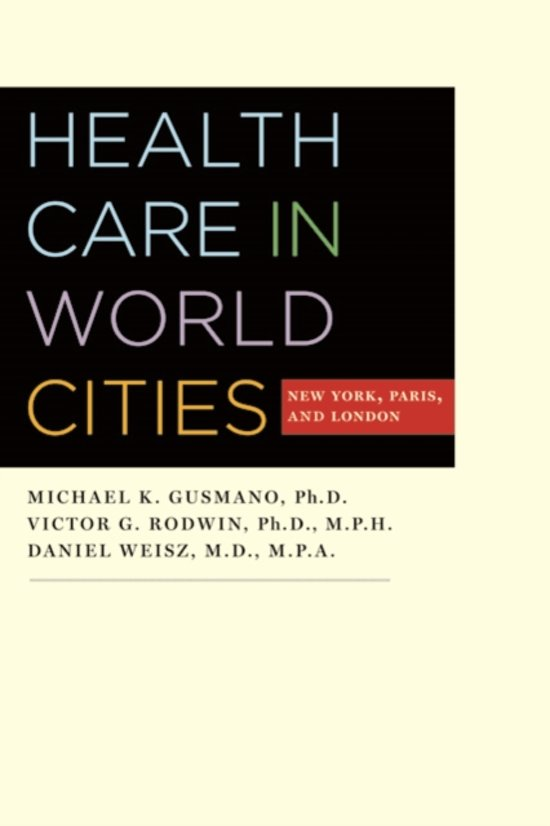 Health Care in World Cities