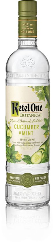 Ketel One Botanical Cucumber Mint - 70 cl