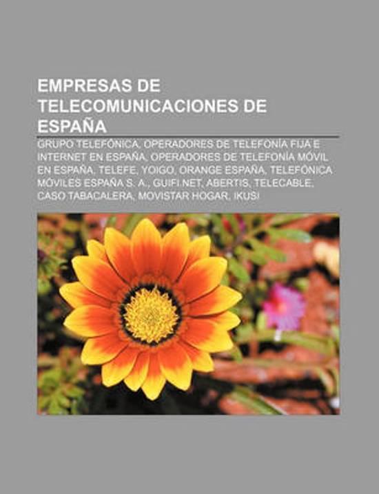 bol com   Empresas de Telecomunicaciones de Espana, Source