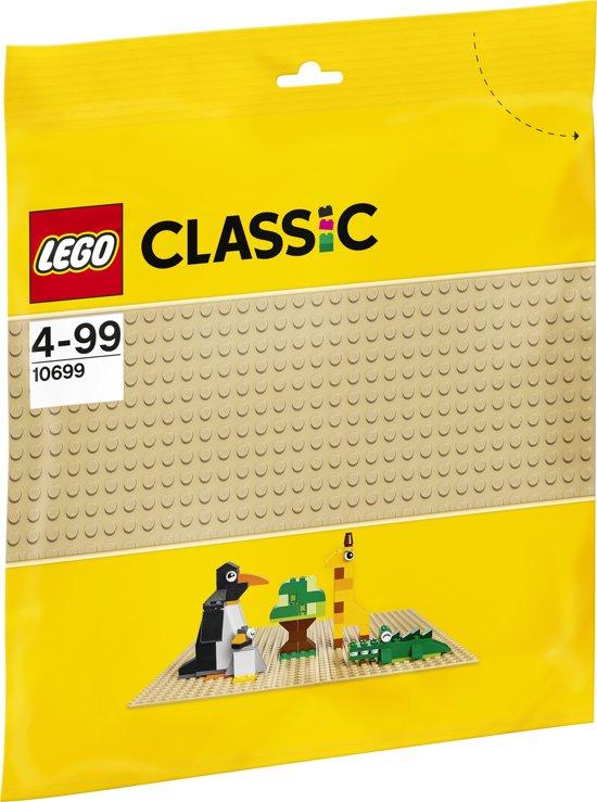LEGO Classic Zandkleurige Bouwplaat - 10699