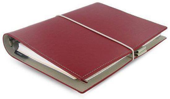 Filofax A5 DOMINO RED Agenda/Organizer