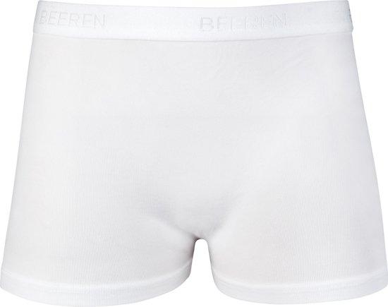 4aadf8eaa6d Beeren Bodywear Meisjes Boxershorts 3-PACK (PA) - Wit - Maat 128/140