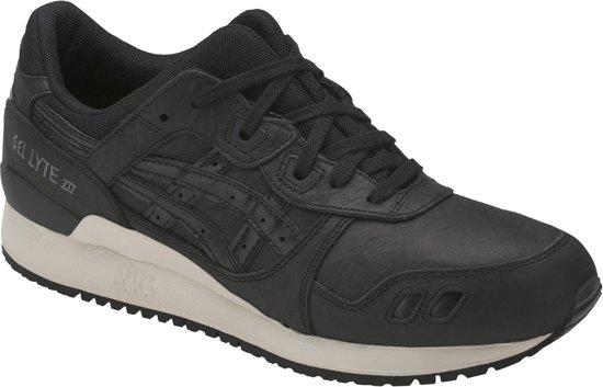 Asics Gel-Lyte III HL7V3-9090, Unisex, Zwart, Sneakers maat: 42.5 EU