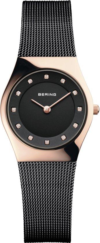 BERING 11927-166 - Horloge - RVS - Rosékleurig - Ø 27 mm
