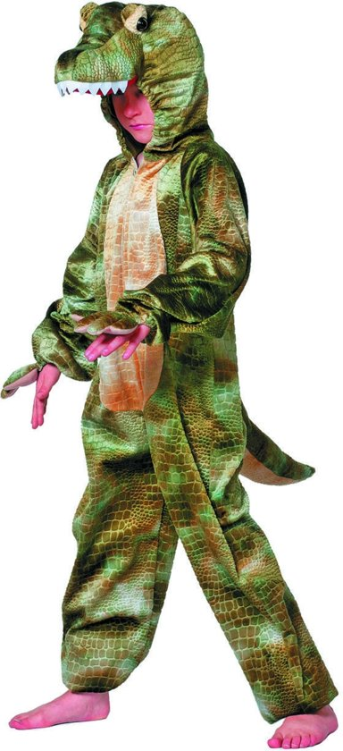 Krokodil - Kostuum - Maat 128