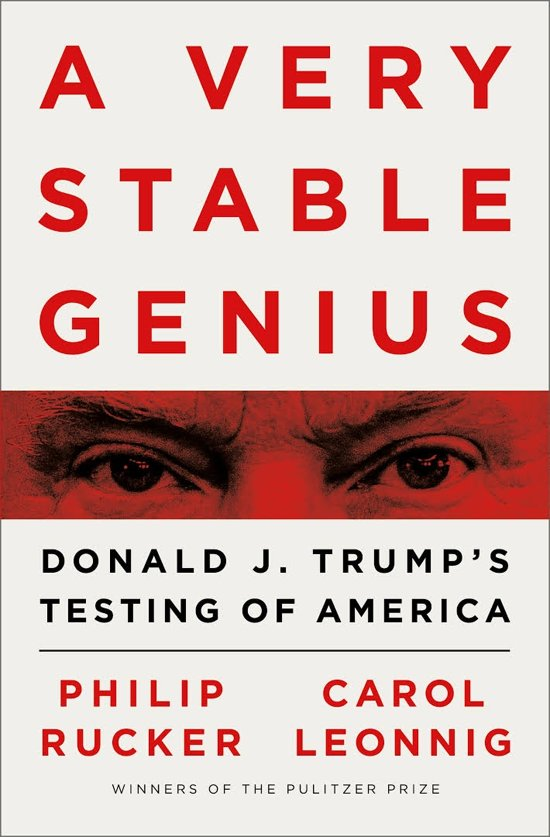 Boek cover A Very Stable Genius van Philip Rucker (Paperback)