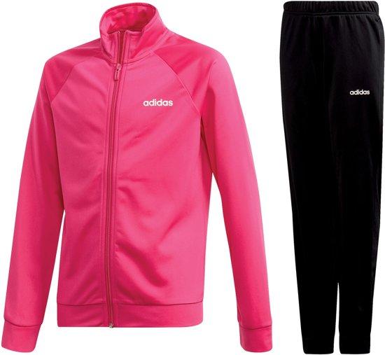elegante schoenen korting fabrieksuitgang adidas Trainingspak - Maat 158 - Meisjes - roze/zwart ...