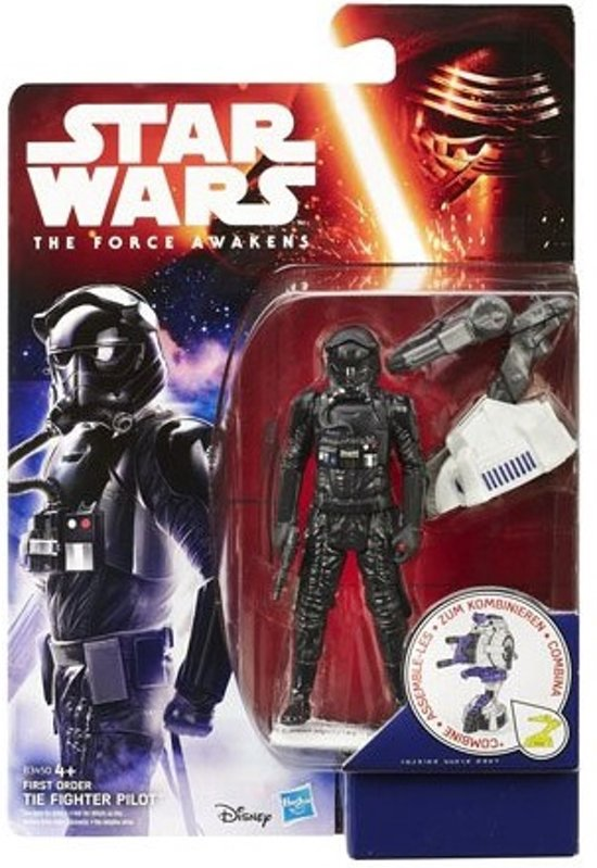 The Force Awakens 3 3/4-Inch Jungle and Space First Order TIE Fighter Pilot (Episode VII)