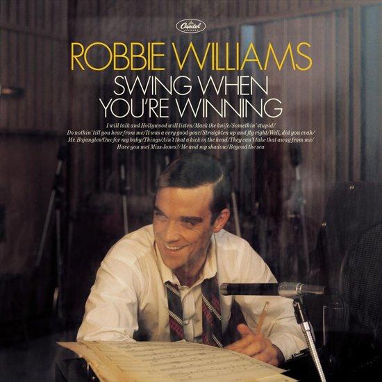 CD cover van Swing When You Re Winning van Robbie Williams