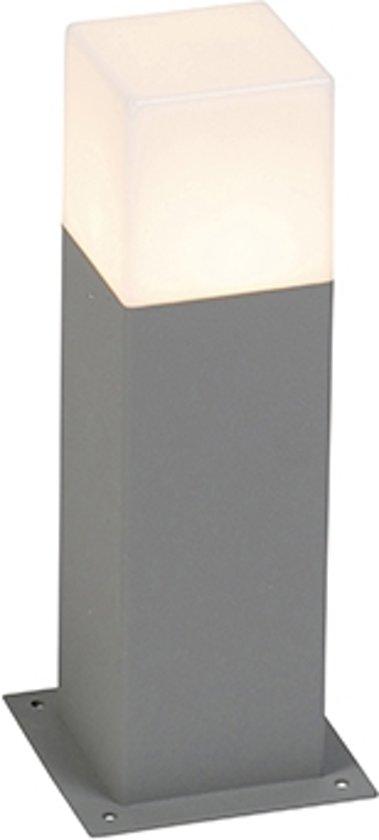 QAZQA Denmark 30 - Terras en tuinpad verlichting - 1 lichts - 120 mm - grijs