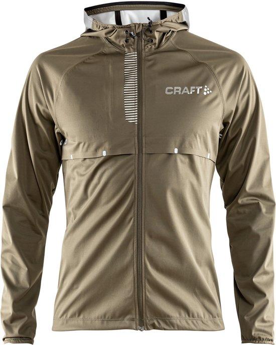 Craft Repel Sportjas Heren - Dk Olive/Silver