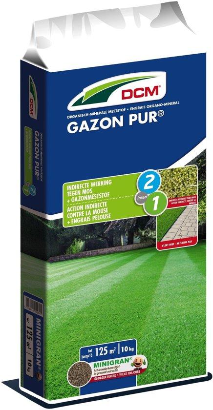 Dcm gazon-pur bemesting  met anti-moswerking 10kg