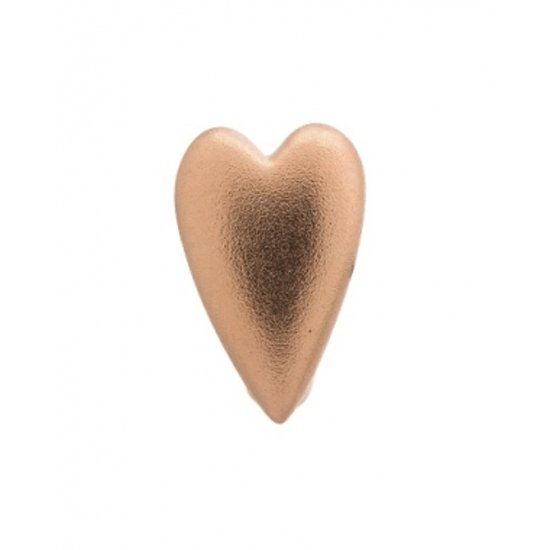 Endless Bedel Brushed Heart Rose Gold Plated
