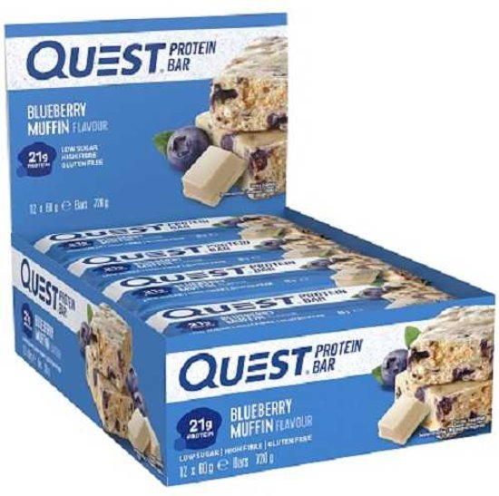 Quest Bars 12repen Blueberry Muffin