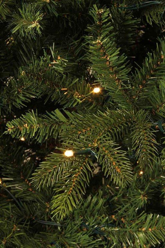 black box kunstkerstboom led macallan pine maat in cm 155 x 104 groen 168 led
