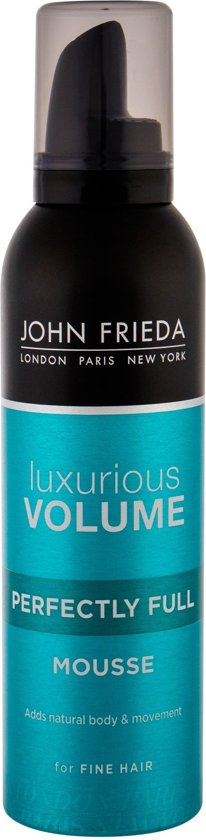 John Frieda Luxurious Volume Perfectly Full Mousse - 200 ml - Haarmousse