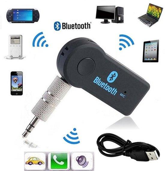Bluetooth 3.1 Audio Music Streaming Adapter Receiver Handsfree Carkit & Thuisgebruik | MP3 Player 3.5mm AUX in Geweldige Geluidskwaliteit Stereo audio Output