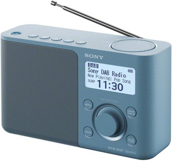 Sony XDR-S61D - DAB+ Radio - Blauw