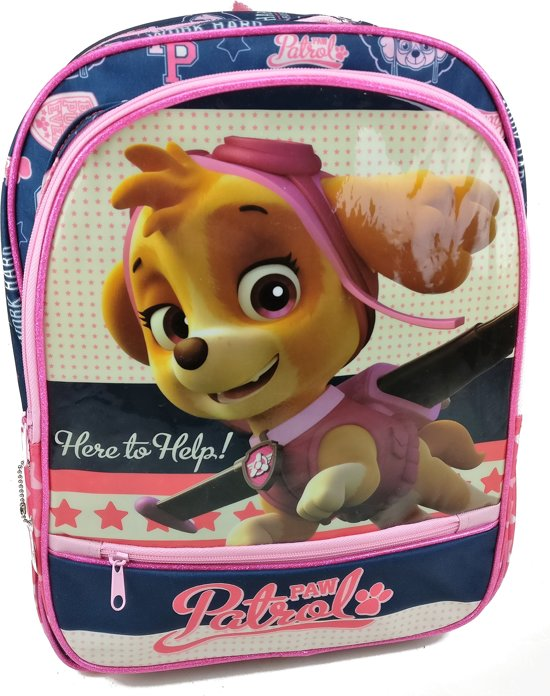 fea79e9a5e6 bol.com | Paw Patrol SKYE Here to Help Rugzak Rugtas School Tas Ruim ...