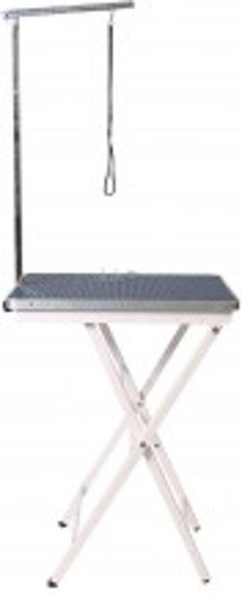 Trimtafel 60 x 45 cm, hoogte op 73 of 82 cm incl. beugel