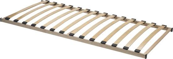 Acaza Flex Basic Lattenbodem - Bedbodem van 90x200cm - Beukenhout