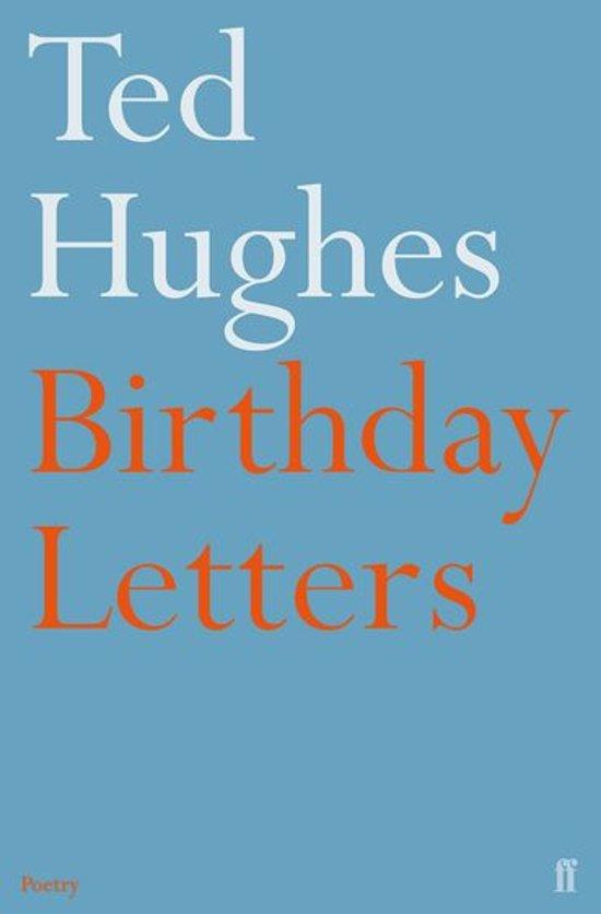 Bolcom Birthday Letters Ebook Ted Hughes