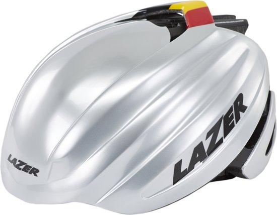 Lazer Z1 racefiets helm Fast zilver Hoofdomtrek 58-61 cm