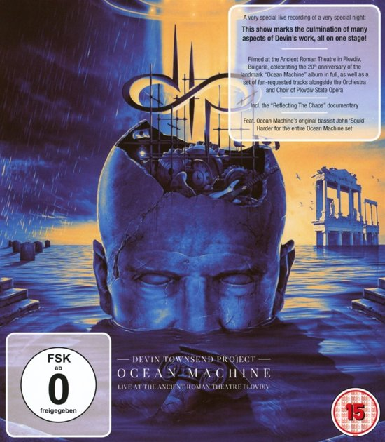 Ocean Machine - Live At The Ancient Roman Theatre (Blu-ray)