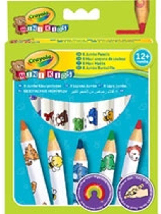 Crayola Mini Kids - 8 Dikke kleurpotloden