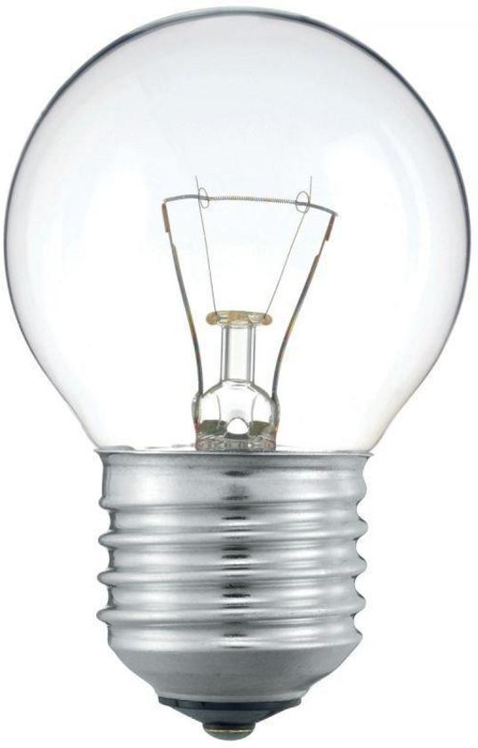 Kogellamp Gloeilamp 40 Watt Helder E27 (5 stuks)