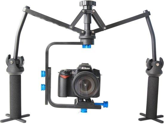 YELANGU YLG-0108F Spider Stabilizer met Quick Release Plaat voor Camcorder DV Video Camera DSLR