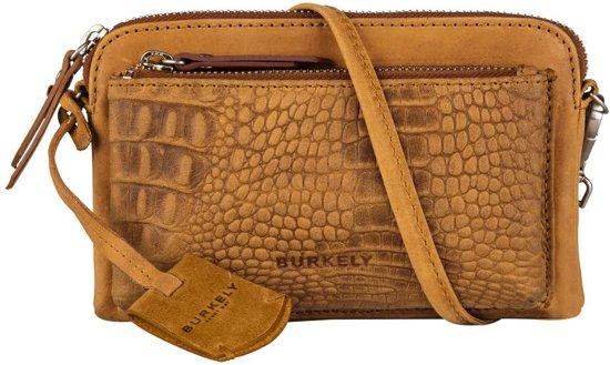 BURKELY About Ally Minibag Crossbodytas - Ocher Geel