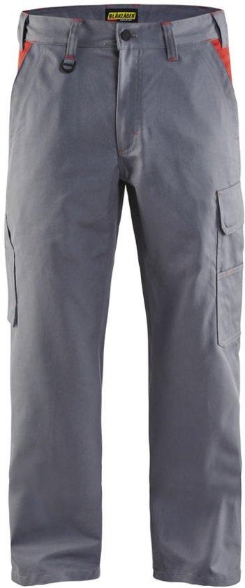 Bläkläder werkbroek industrie - Grijs/Rood