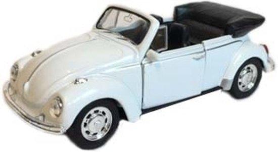 Bol Com Speelgoed Volkswagen Kever Witte Cabrio Auto 12 Cm Fun