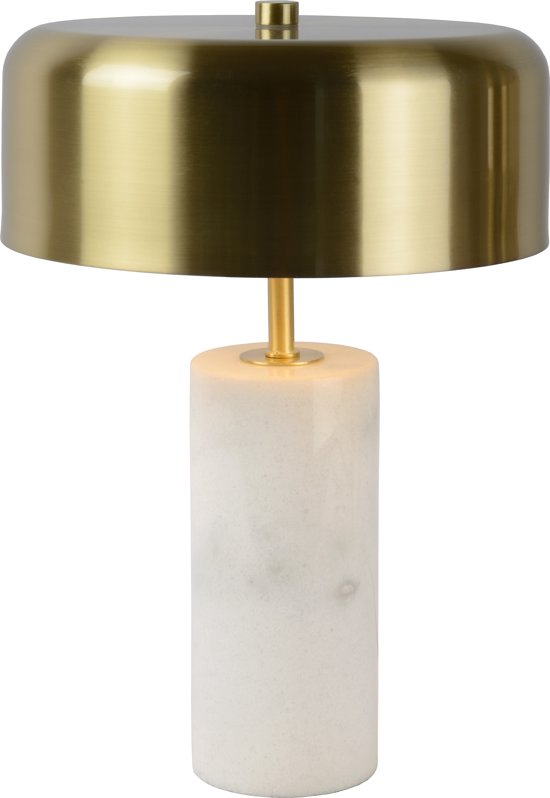 Lucide MIRASOL Tafellamp - Ø 25 cm - G9 - Wit