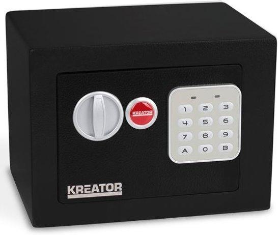 Kreator KRT692007 Elektronische kluis - 170 x 230 x 170 mm