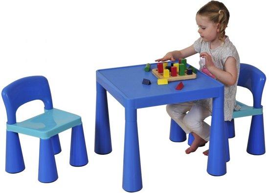 Bol.com blauwe set voor kinderen en stoelen sm004b