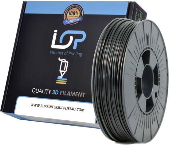 IOP PLA 2,85mm Black 1kg